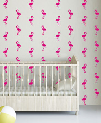 Flamingo's-Wall-Stickers